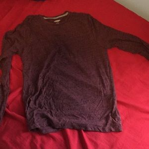 VERY Soft Old Navy Maroon Long Sleeve